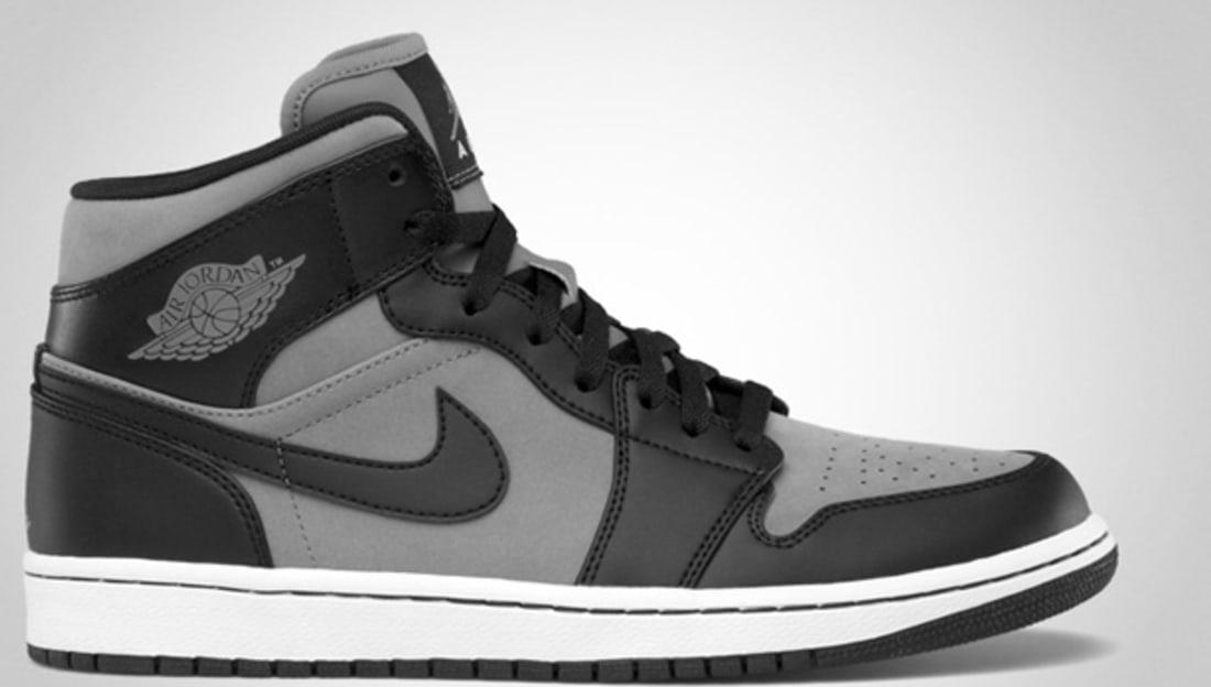 gray and black jordan 1