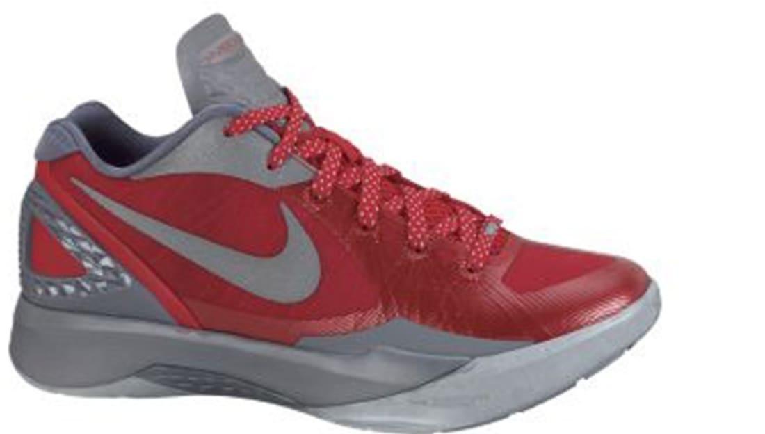 e81c471ae66d Nike · Nike Basketball · Nike Hyperdunk 2011. Nike Zoom Hyperdunk 2011 Low  PE Sport Red Metallic Silver-Cool Grey