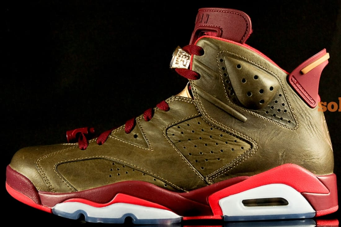 Air Jordan 6 Retro Raw Umber/Team Red-Metallic Gold-Chilling Red