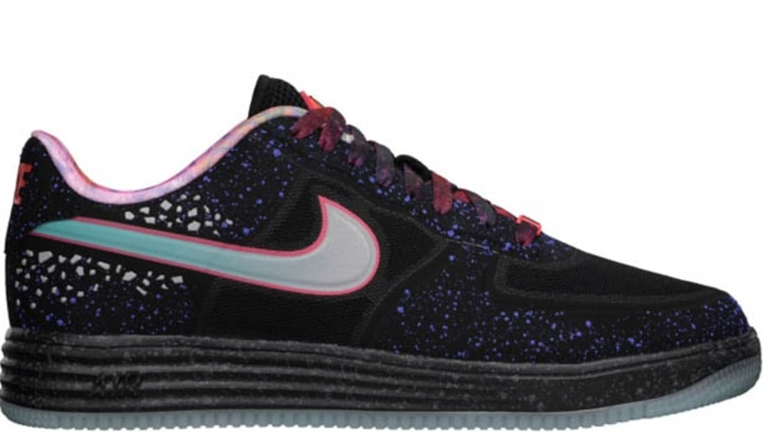 detailed look d6966 46933 Nike Lunar Force 1 Fuse Premium QS Area 72 Rayguns   Nike   Sole ...
