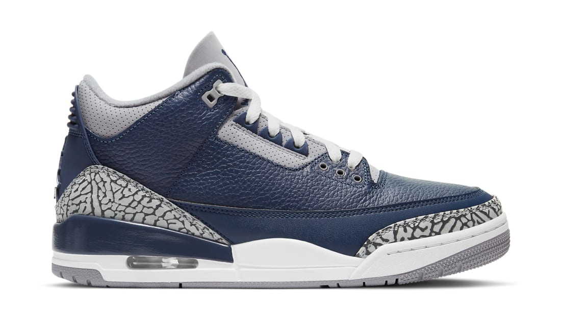 Air Jordan 3 Retro Midnight Navy/Cement Grey/White