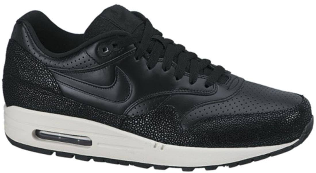 Nike Air Max 1 Leather PA Black/Black-Sea Glass