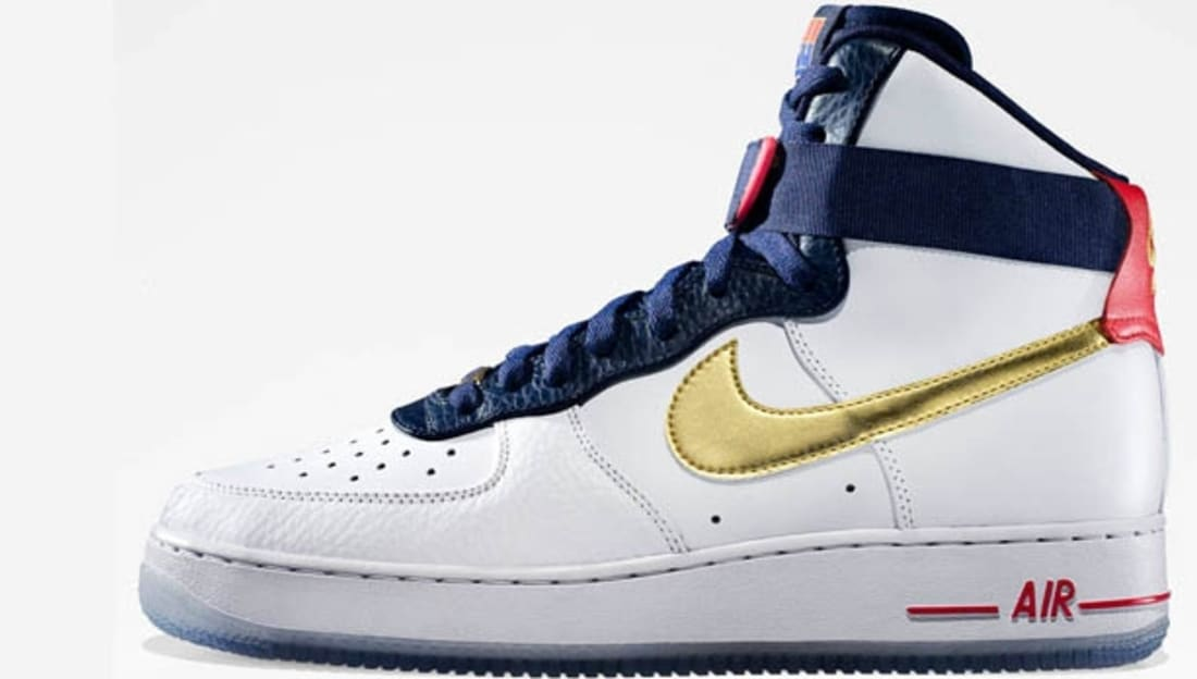 separation shoes de37b da6ec Nike Air Force 1 High Premium Olympic  12