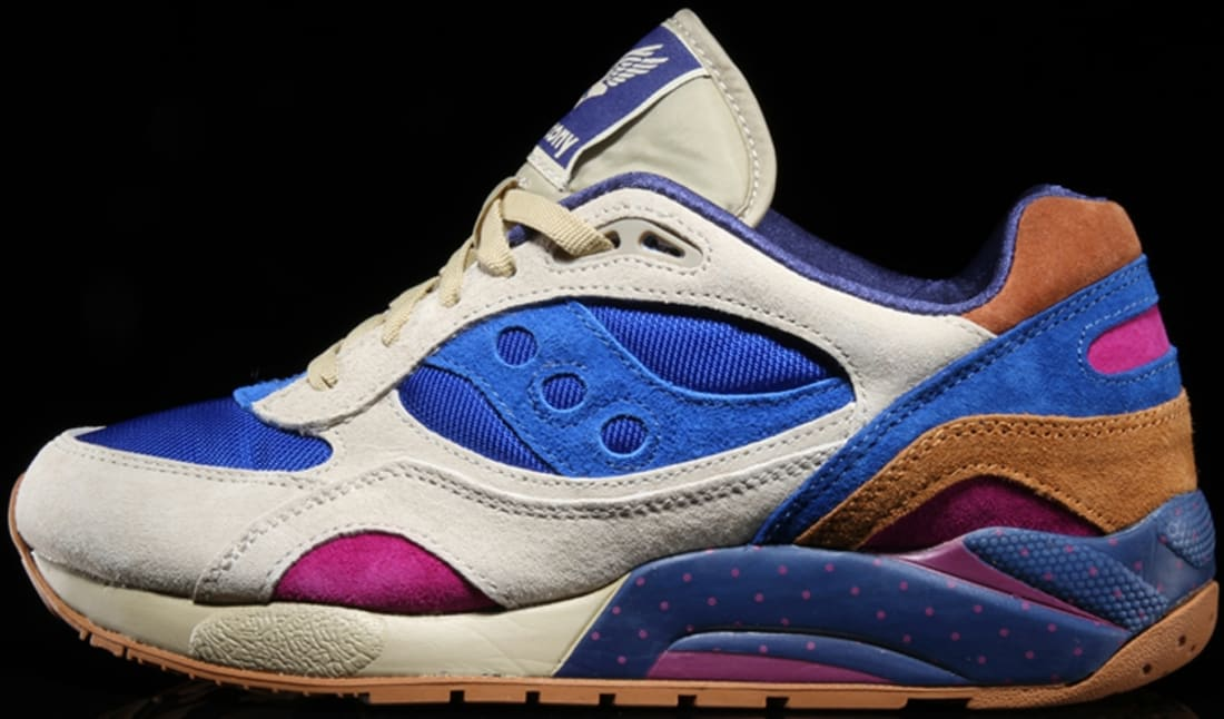 Saucony Elite G9 Shadow 6 Light Tan/Blue
