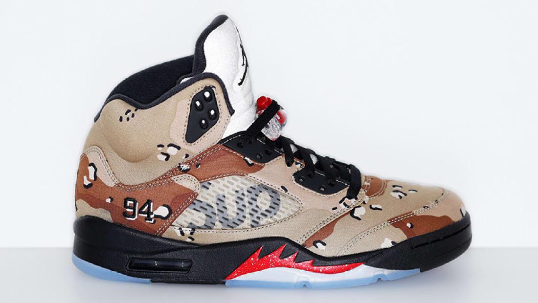 Supreme x Air Jordan 5 Retro