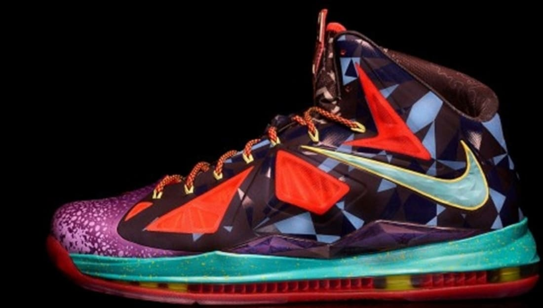 Nike LeBron X Premium What The