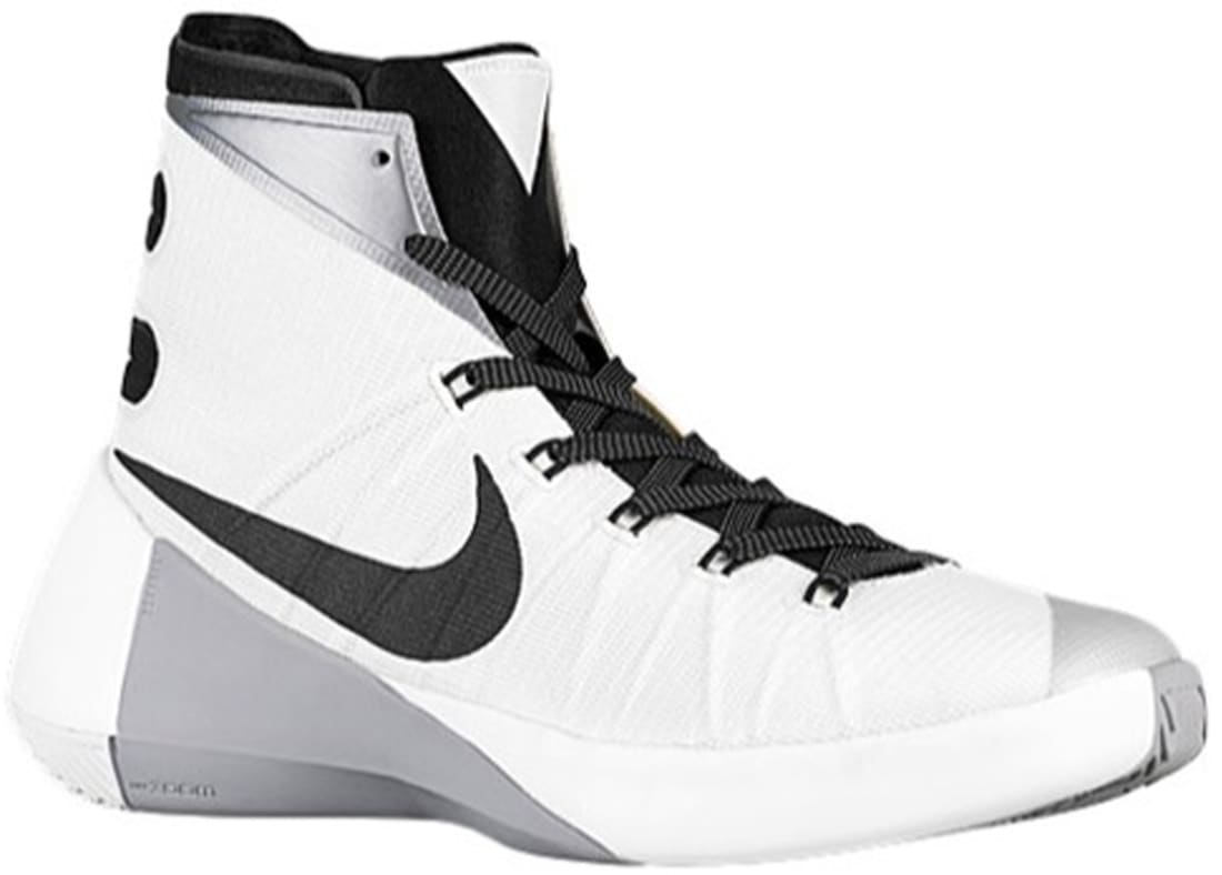 760b6060f0df ... cheap nike hyperdunk 2015 white metallic silver black nike sole  collector ee7f6 b5e34 ...