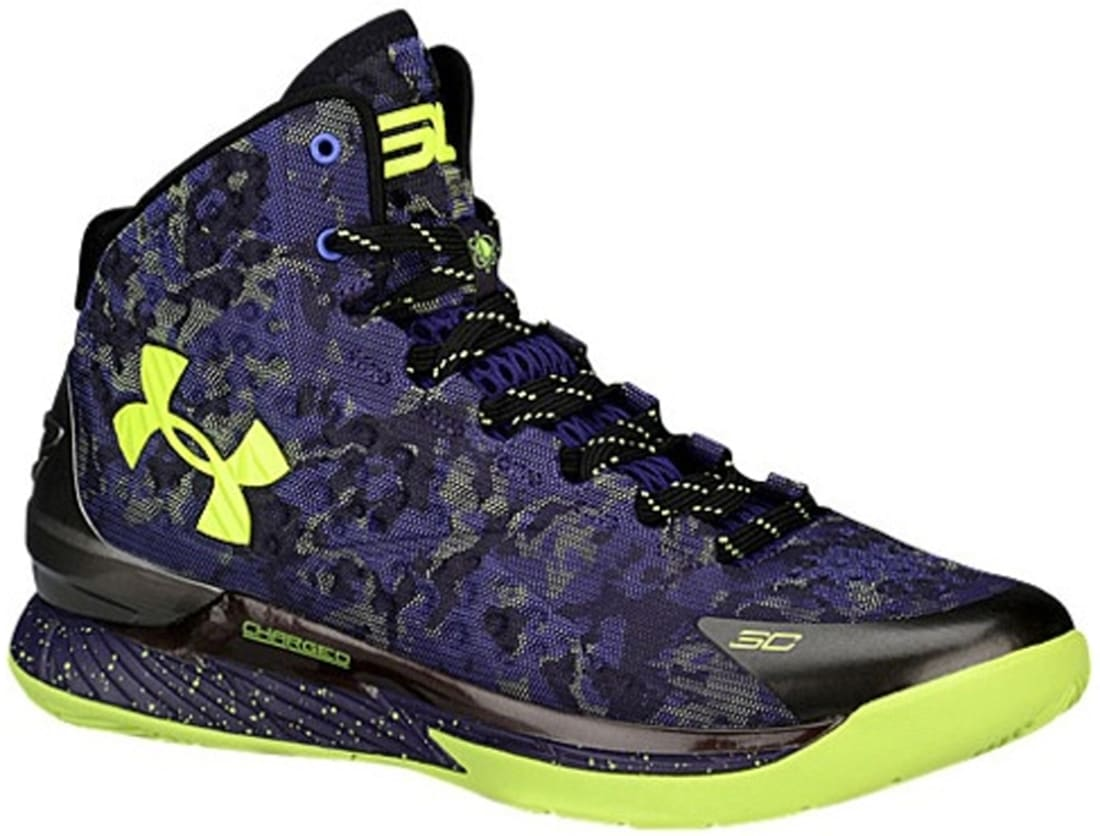 best sneakers a64c7 65297 Under Armour Curry One Purple Black