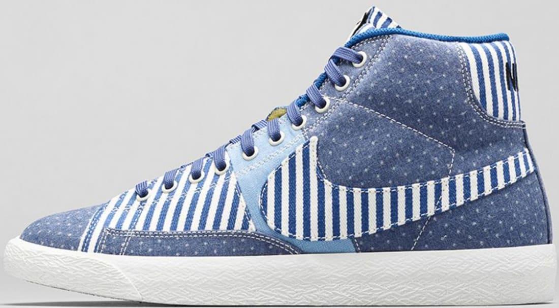 Nike Blazer Mid Premium VNTG Blue Legend/Sail