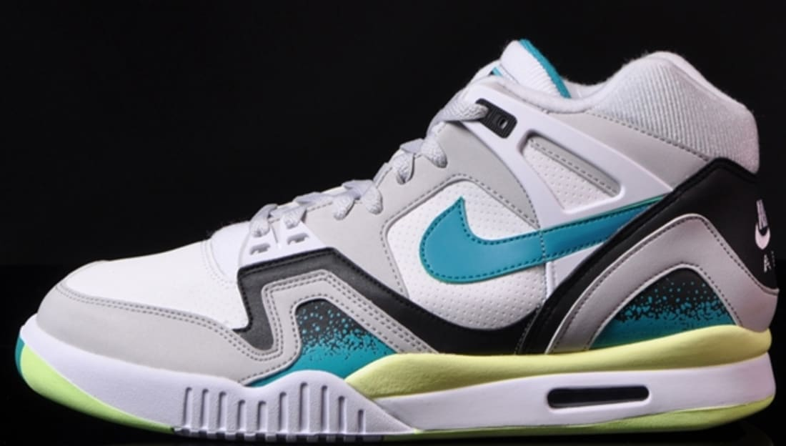 Nike Air Tech Challenge II White/Turbo Green-Neutral Grey-Black
