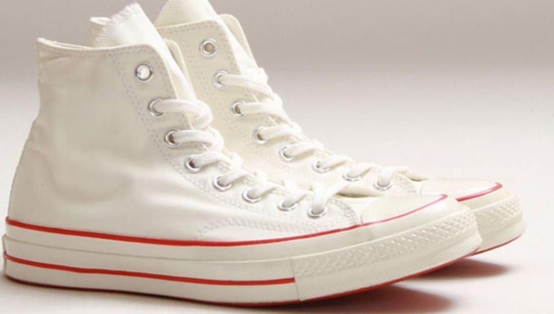 ba6a32198520 Converse Chuck Taylor All Star 1970s Hi White Red
