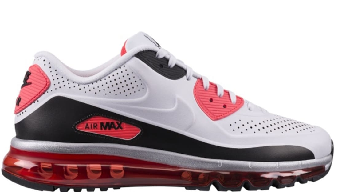 innovative design 91b29 1f60b Nike Air Max '90 2014 White/White-Infrared-Black | Nike | Sole Collector
