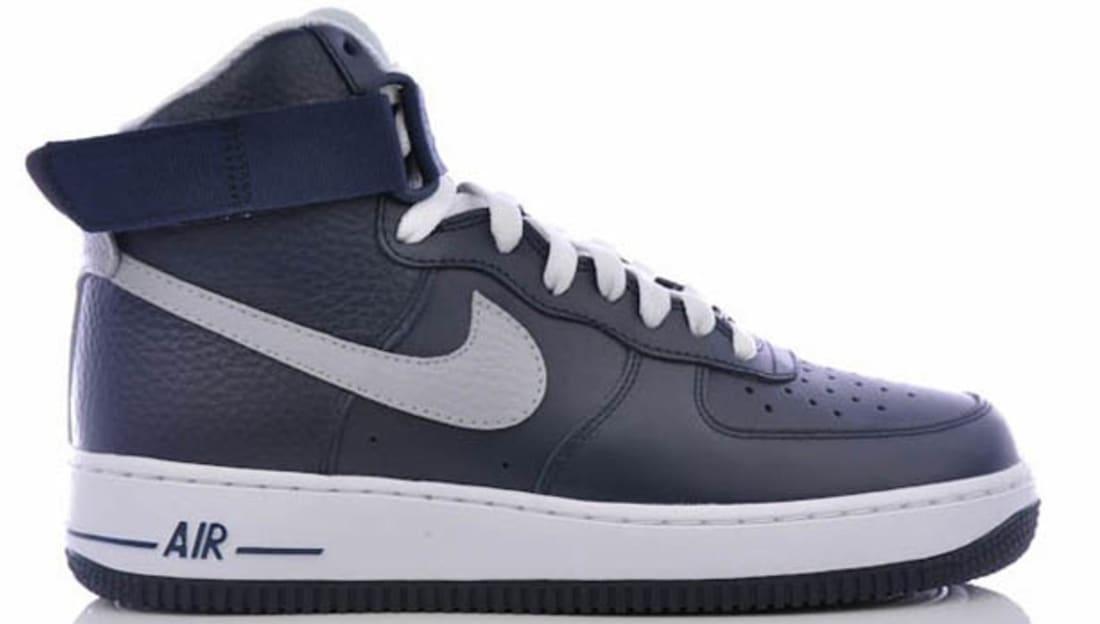 Nike Air Force 1 High Obsidian/Wolf Grey-White