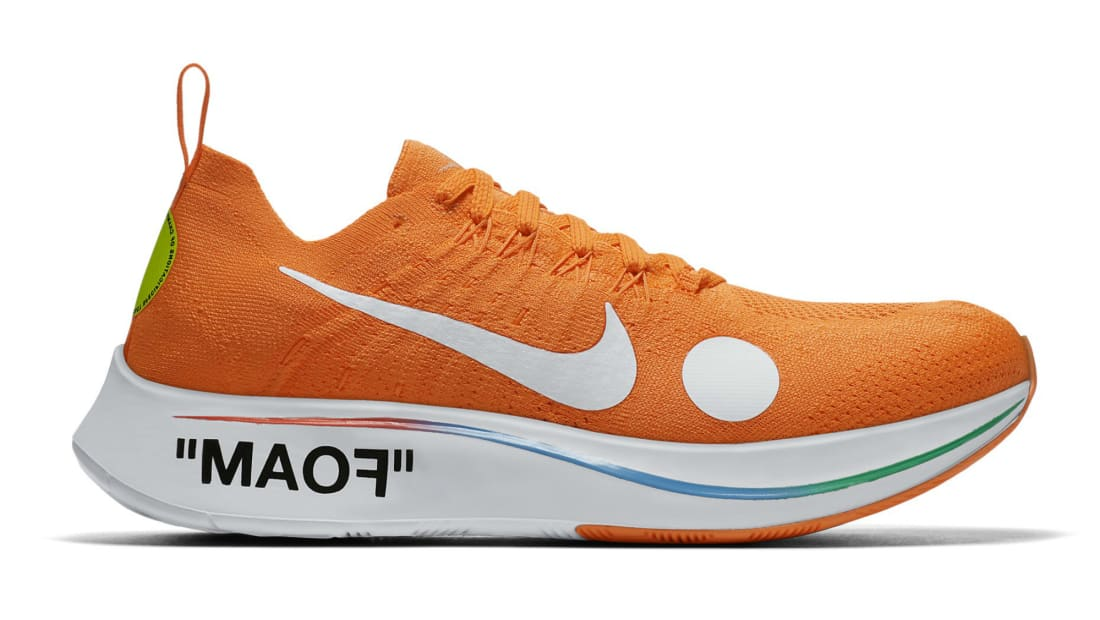 2419ab8989c45 Nike · Nike Running · Nike Zoom Fly. Off-White x Nike Zoom Fly Mercurial  Flyknit