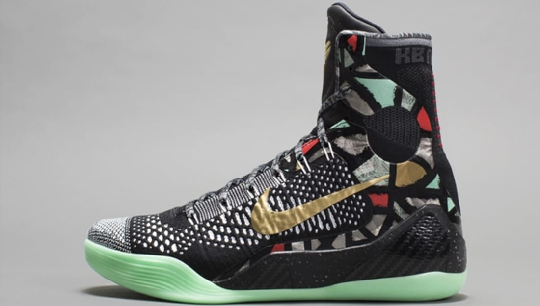 release date: 57e81 63f55 Nike Kobe 9 Elite AS Black Metallic Gold-White