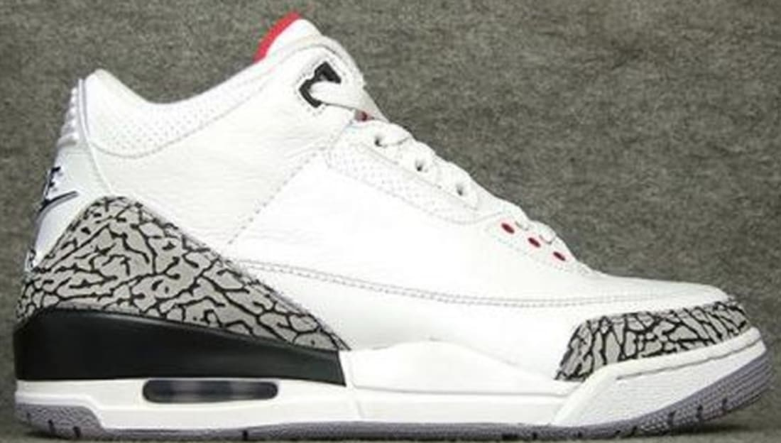Air Jordan 3 Retro '88 White/Cement Grey