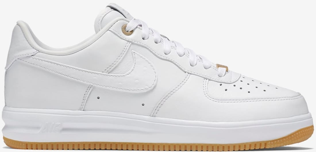Nike Lunar Force 1 Low Premium White/White-White