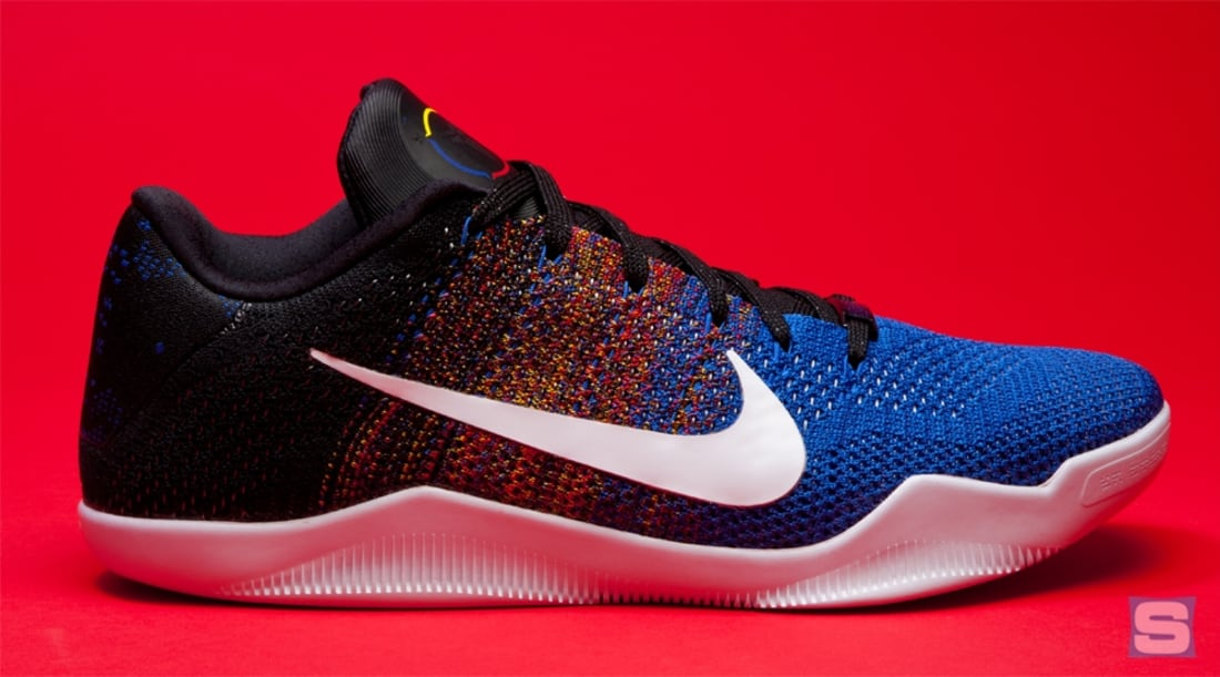 huge discount 529bc 6a99a Nike Kobe 11 Elite Low BHM Multi-Color White-Game Royal