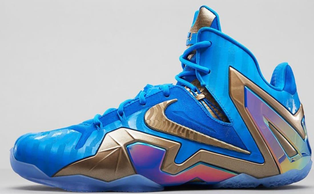 Nike LeBron 11 Elite SE Blue HeroMetallic Zinc Ice | Nike
