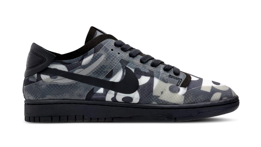 Comme Des Garcons x Nike Dunk Low Black/Black-Black