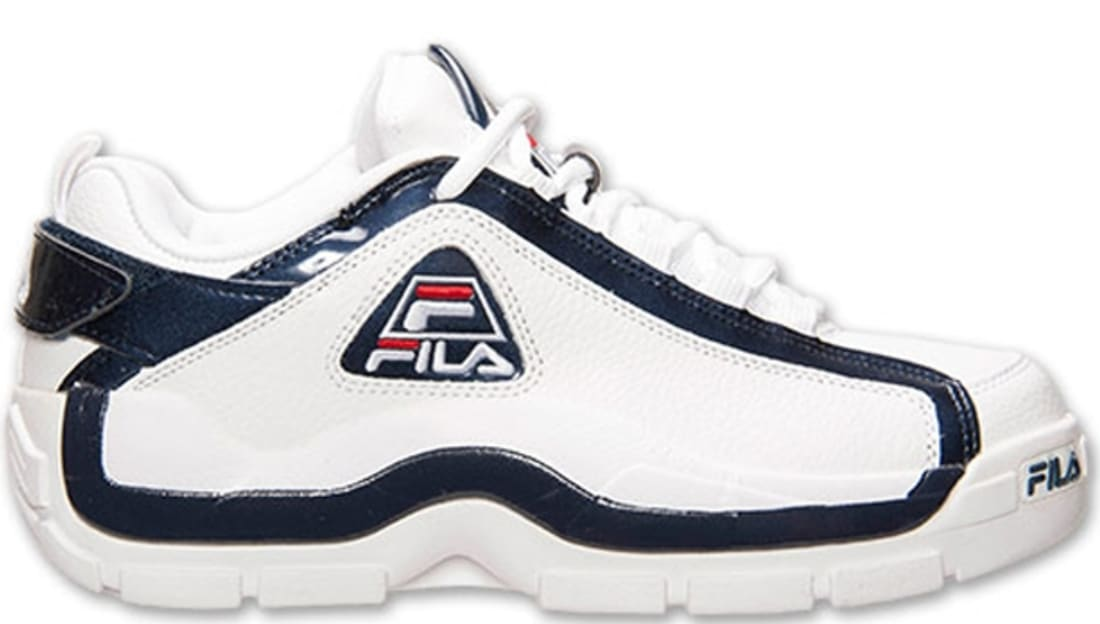 new style f2a35 2b213 Fila 96 Low White Fila Navy-Fila Red