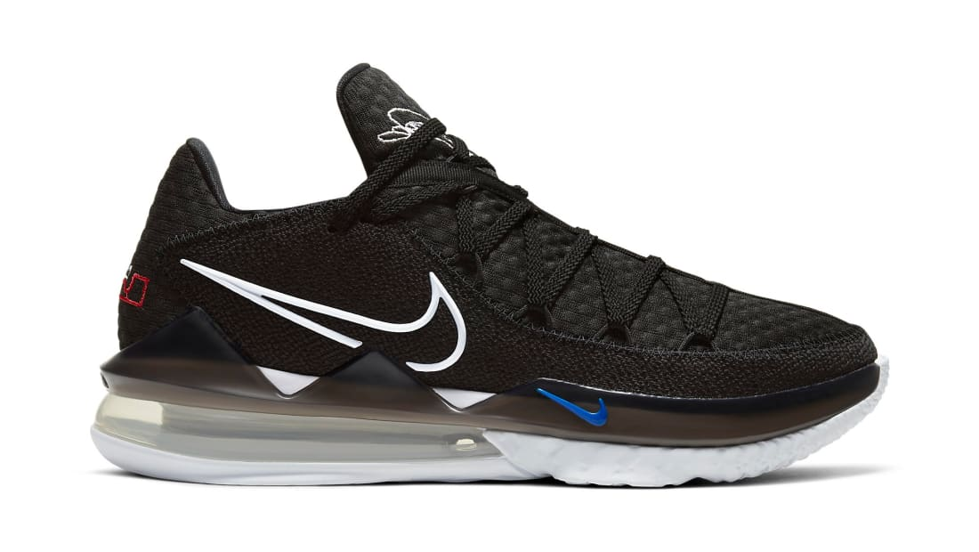 Nike LeBron 17 Low Black/White-Multi-Color