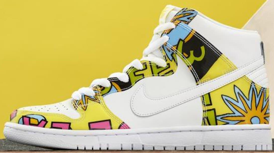 buy online d597a 6f444 Nike Dunk High DLS Premium SB White Firefly