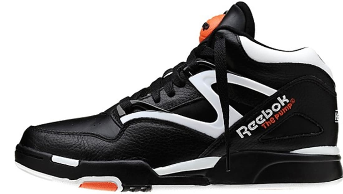 Reebok Pump Omni Lite Dee Brown Black/White-Varsity Orange