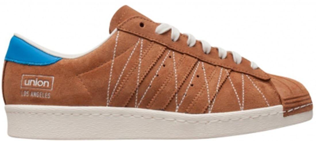 adidas Consortium Superstar Brown/White-Blue