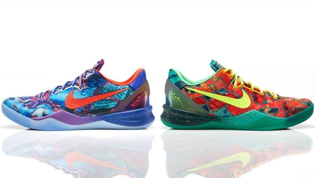 hot sale online 57e66 e4c09 Nike · Nike Kobe · Nike Kobe 8 (VIII). Nike Kobe 8 System Electric Orange Deep  Night-Violet-Bright Critus