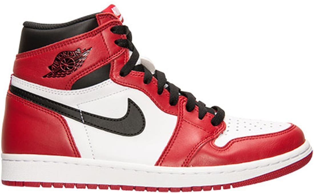 Air Jordan 1 Retro High OG White Varsity Red-Black  d52f456f3e5a