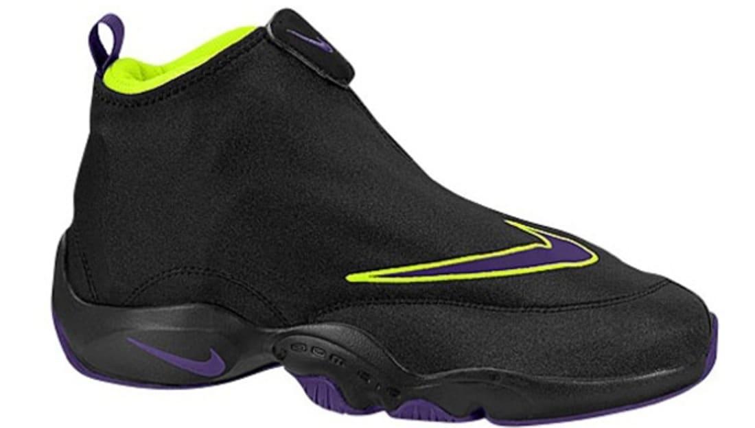 Nike Air Zoom Flight The Glove Black/Court Purple-Volt   Nike   Ietp