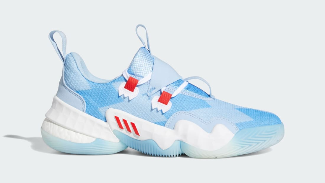 Adidas Trae Young 1 Bahia Light Blue/Vivid Red/Cloud White