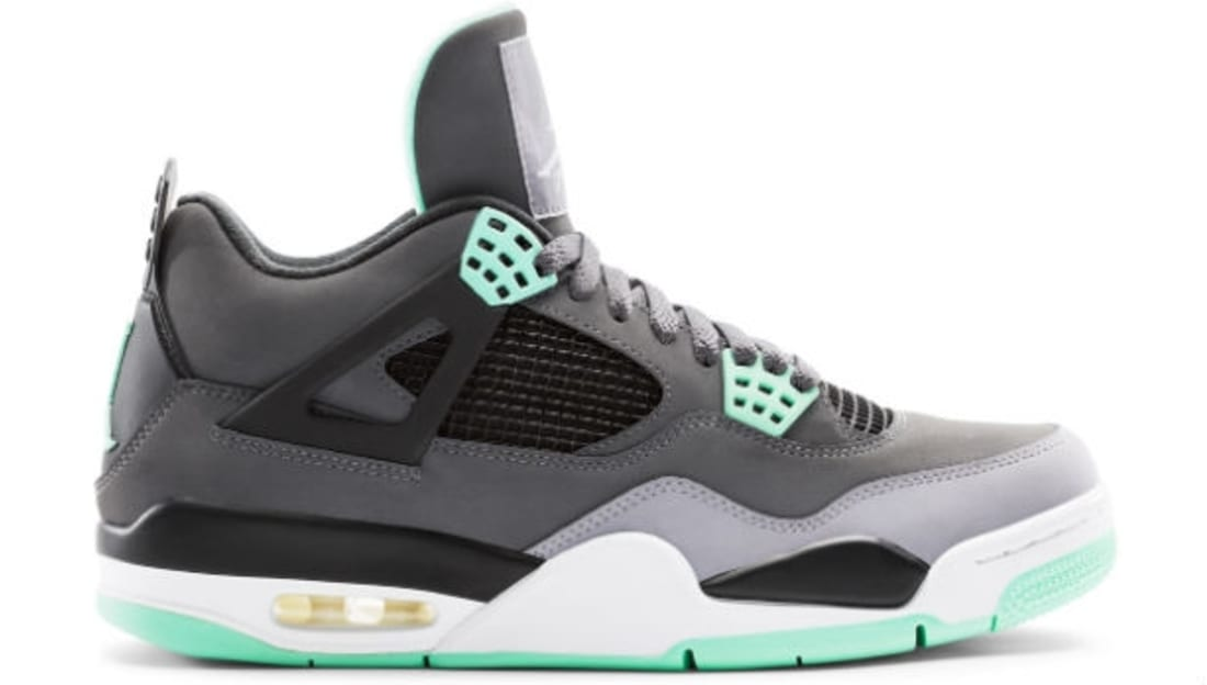 best authentic 0e1c9 b285c Air Jordan 4 Retro Green Glow