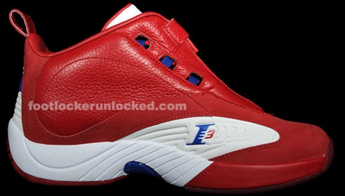 best website 2b152 215aa reebok answer 4 red