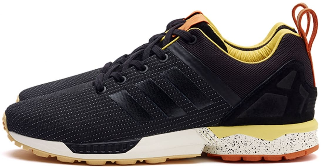 adidas Consortium ZX Flux BlackYellow Orange | Adidas