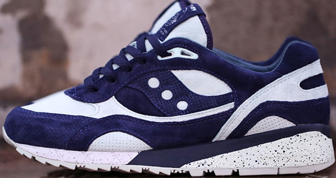 best sneakers 67c3b 83524 Saucony Shadow 6000 Light Blue/Navy Blue | Saucony | Sole ...