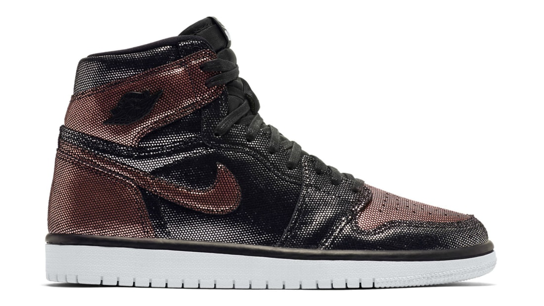 nike air jordan 1 high og wmns fearless rose gold