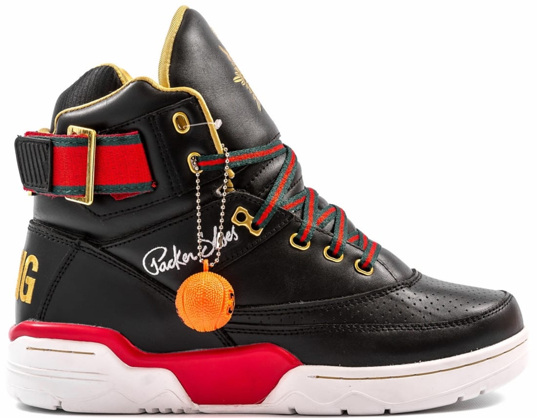 Ewing Athletics Aloysius 33 Hi Black/Red-Green