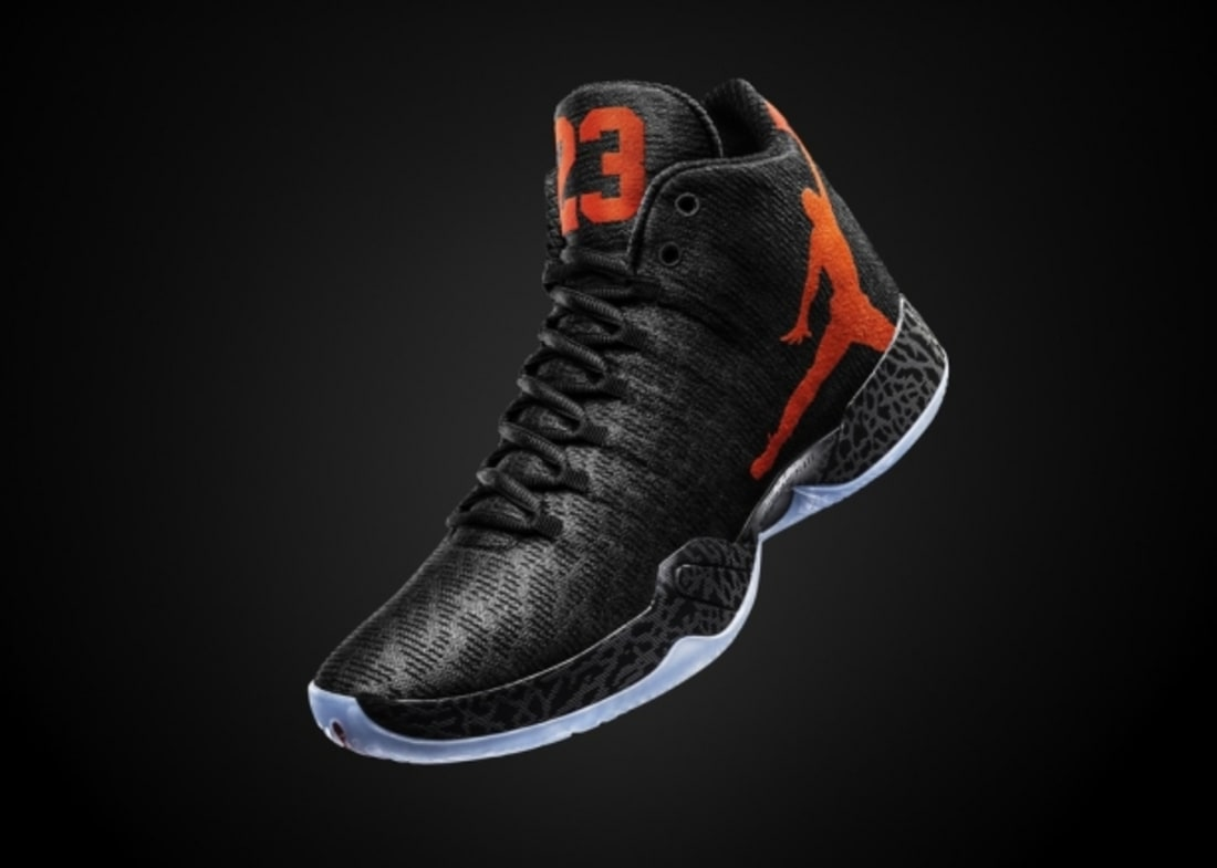 b57231a04e9b20 Air Jordan XX9 Black Team Orange-Dark Grey