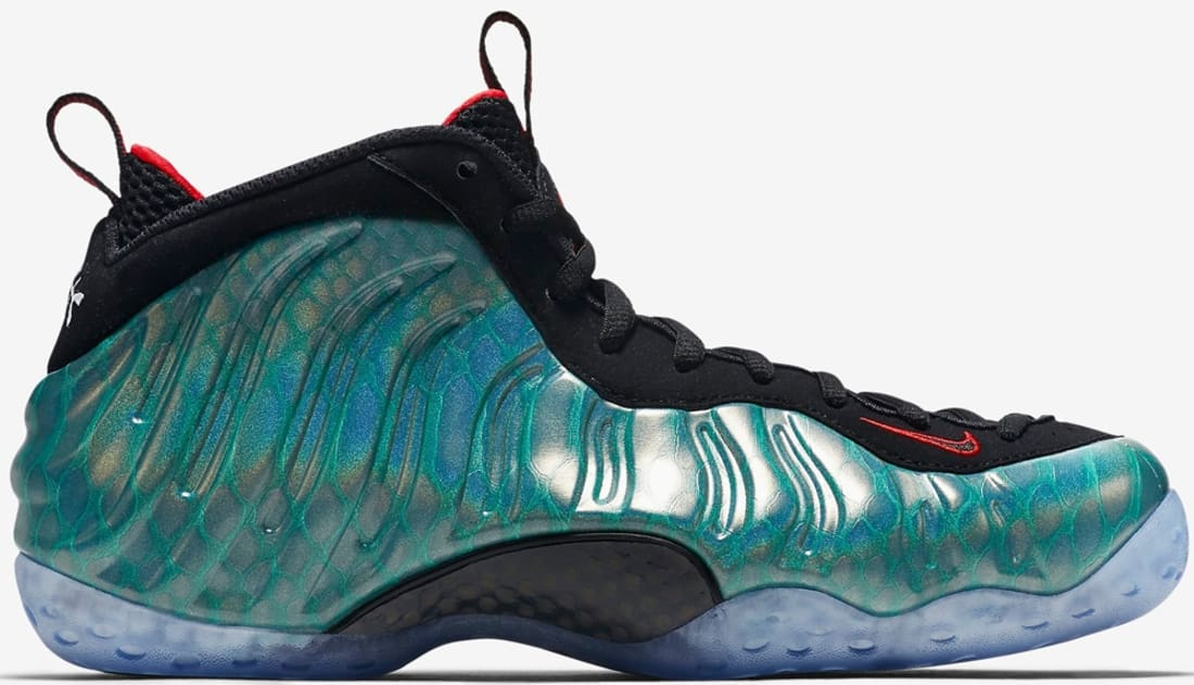 05f81ba01ae Nike Air Foamposite One Premium Dark Emerald Challenge Red-Black ...