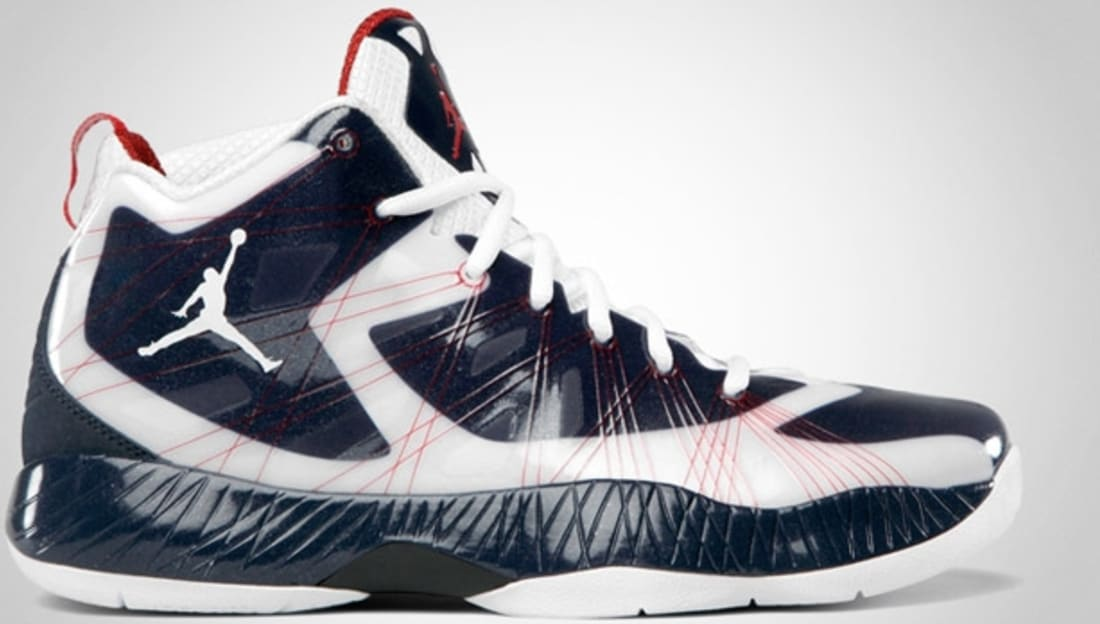 Air Jordan 2012 Lite White/Obsidian-Varsity Red