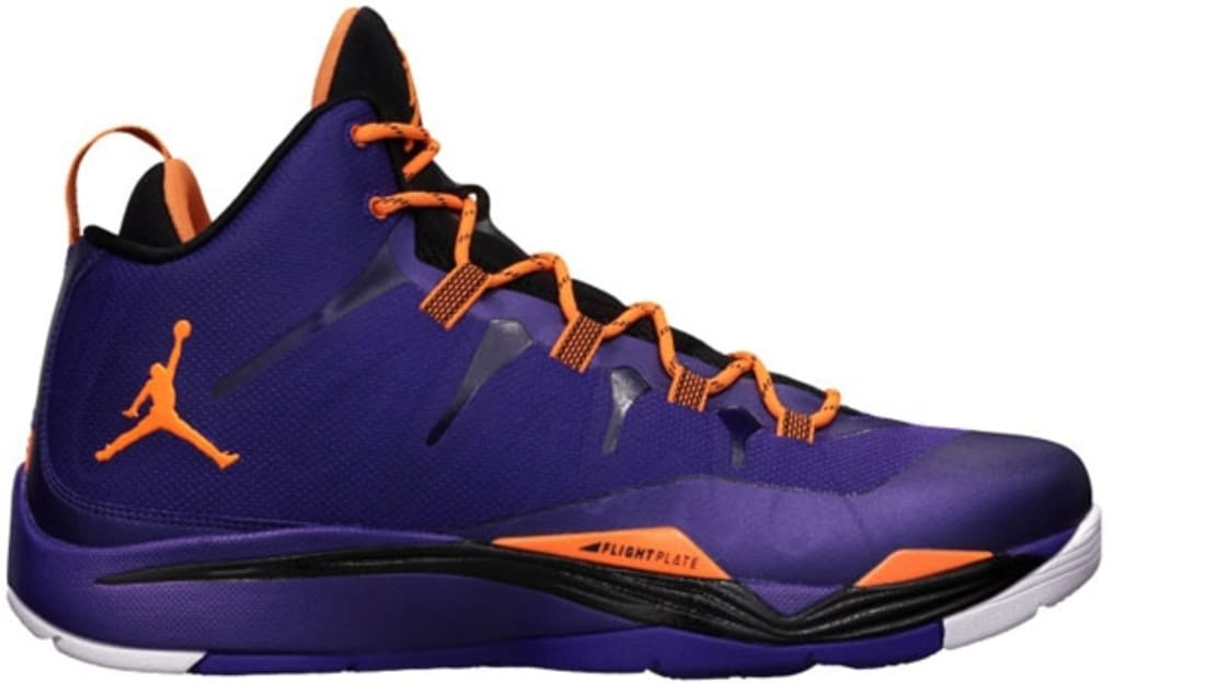Jordan Super.Fly 2 Court Purple/Bright Citrus-Black-White