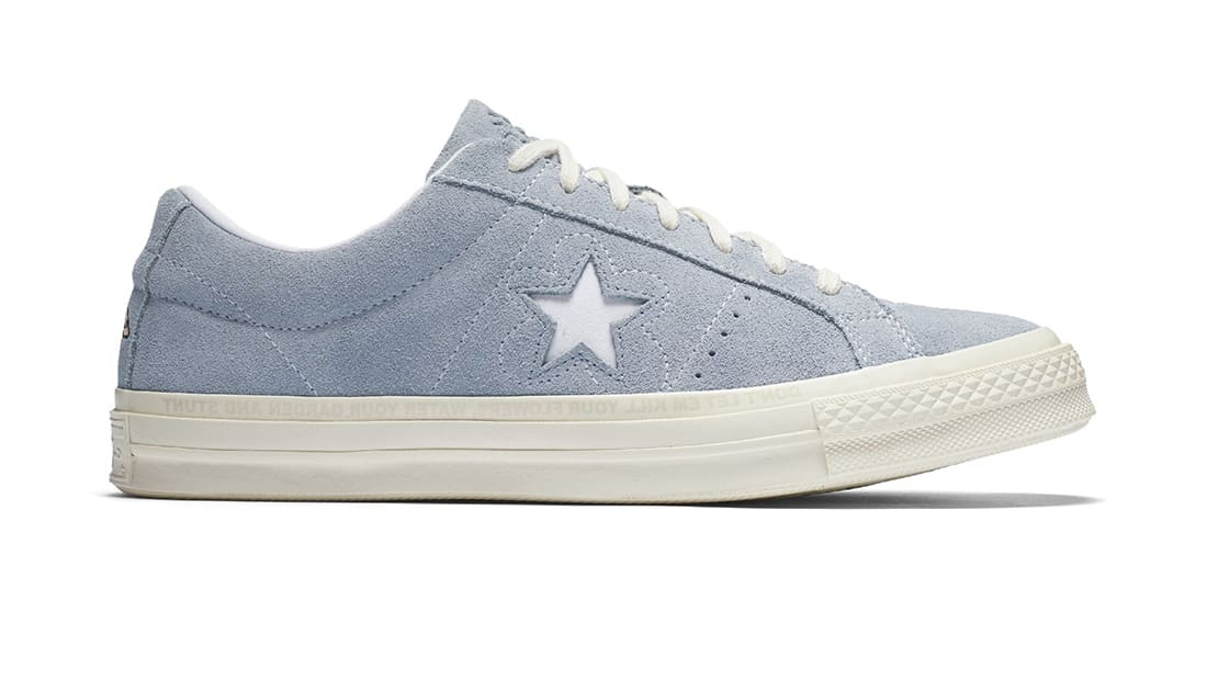 Golf Le Fleur X Converse One Star Airway Blue Converse Sole Collector
