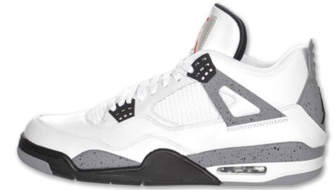 4f6a50c2929fd4 Air Jordan 4 Retro White Cement Grey