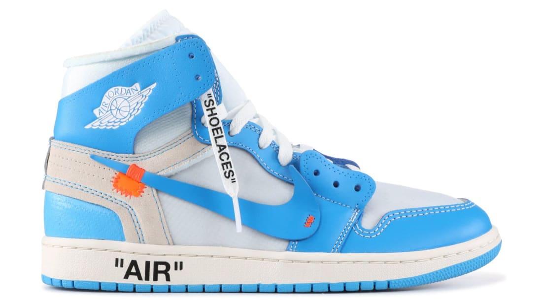 Off-White x Air Jordan 1 'UNC' | Jordan