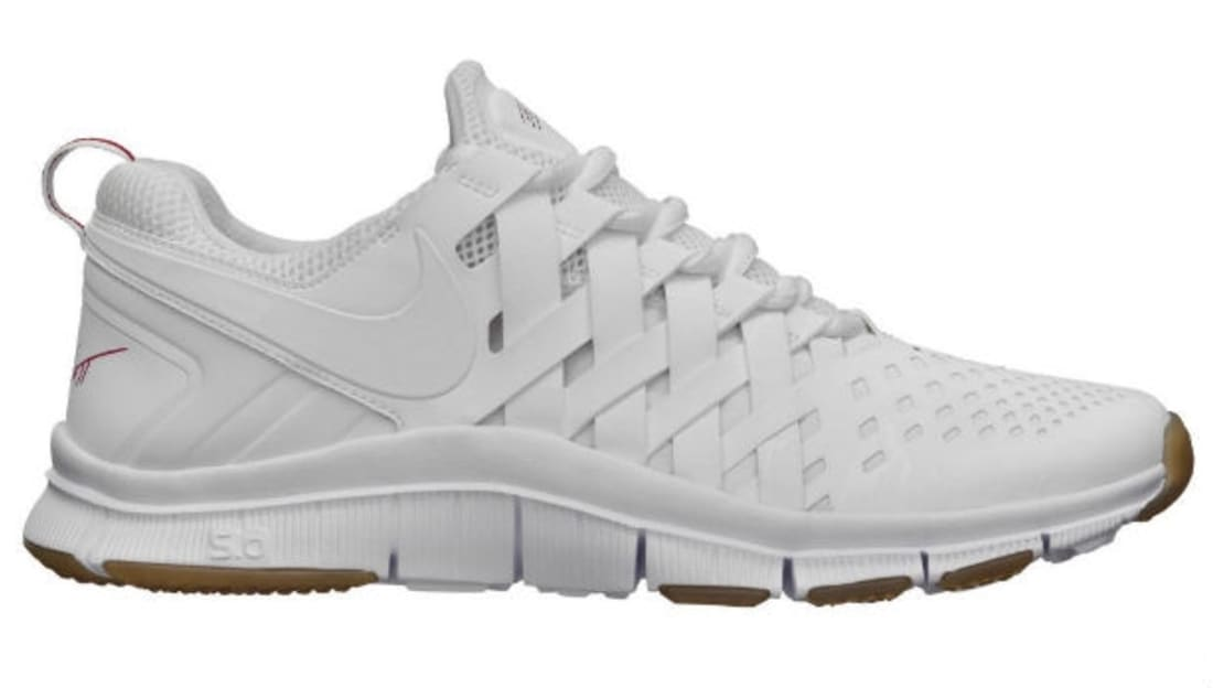 nike free trainer 5.0 Nike Free Trainer 5.0 White/Gym Red | Nike | Sole Collector
