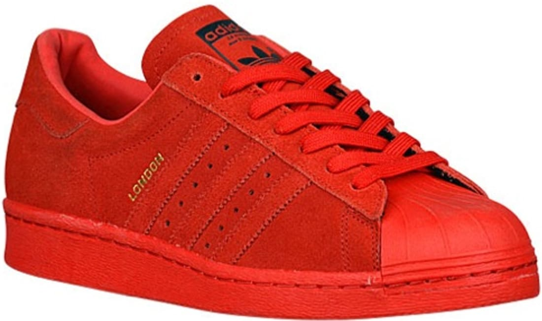 adidas Superstar 80s Solid Red/Solid Red