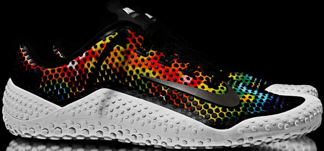 Nike Free Trainer 1.0 Black/Multi-Color-White