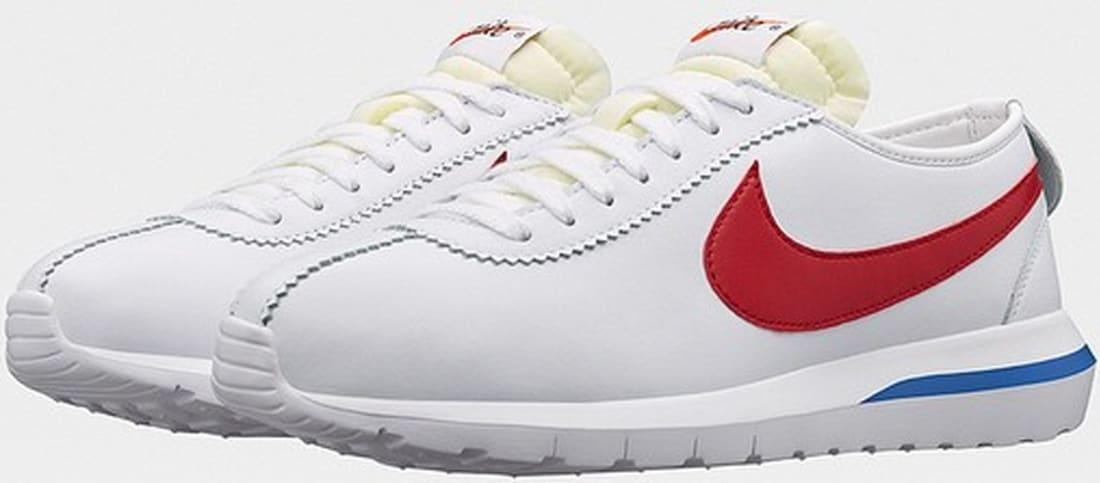 san francisco 85fdf 0dd8e Nike Roshe One Cortez White Game Royal-Varsity Red